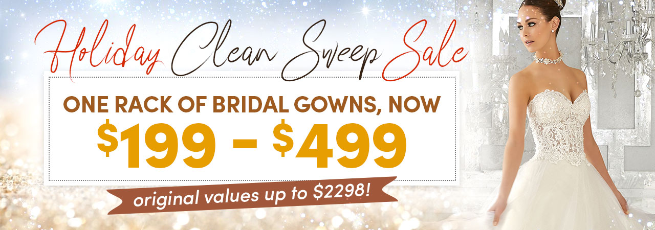 Bridal Gown Holiday Sale