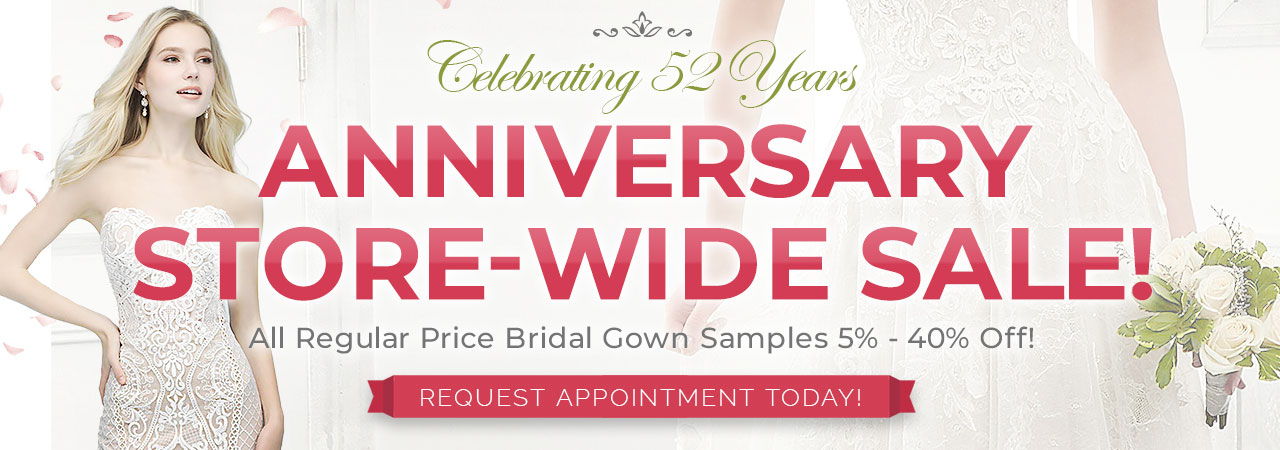Store Wide Bridal Gown Sale