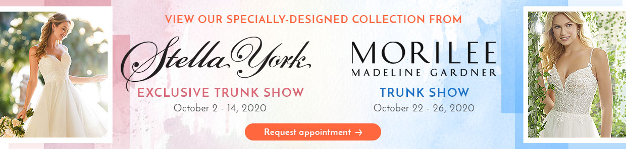 Stella York and Morilee Trunk Show